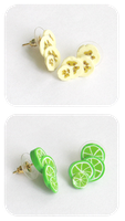 fruit slice studs by BadgersBakery