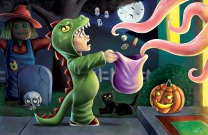 Trick or Treat by jpzilla