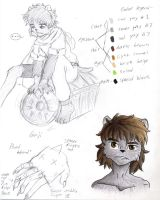Ginji character sheet by ShiroRyu927