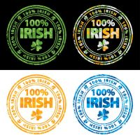 100 percent Irish stamps by grebenru