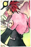 Bleach: Bankai Renji by aqua-relle