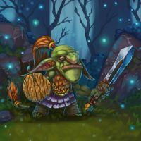 Forest Goblin by Vinni-Pooh