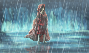 Little red riding hood by Alukei