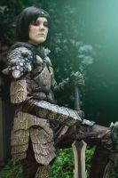 Dragonborn - Dragonscale armor by Ravenfromfinland