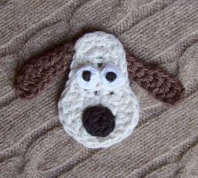 Crochet Gromit by meekssandygirl