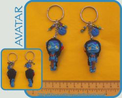 Chibi Navi Keychains - sold by Nko-ennekappao