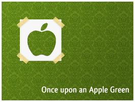 Once upon an Apple Green by Bint-M7amad