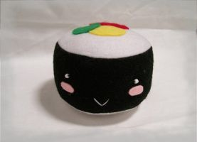 California Roll Sushi Plushie by CuteGio