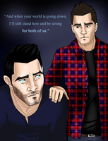 I'll always be there for you, Derek by SonOfLaufey