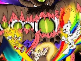 Sonic Unleashed/MLP Crossover Battle: P.D. Gaia by mkf2308