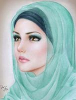 Hijabis Beauty by Mari945