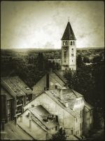 Lutheran tower by 2ga