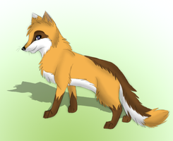 Fox Design by Perlenmond