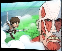 Chibi Attack On Titan by AIBryce