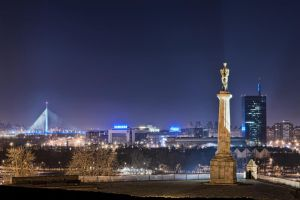Belgrade skyline by BorisMrdja