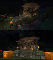 my house in MineCraft by taliby97