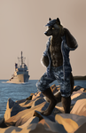 Wolf of the Sea: Commission by daughterofthestars
