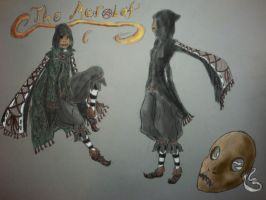 The Acrobat Colored by Feendra13