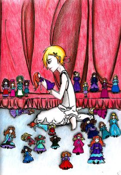 Hetalia - Norway All the dolls by Wesdot