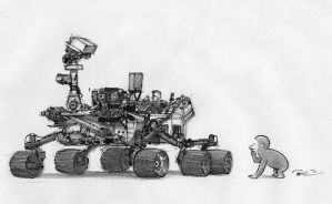Curiosity by RobtheDoodler
