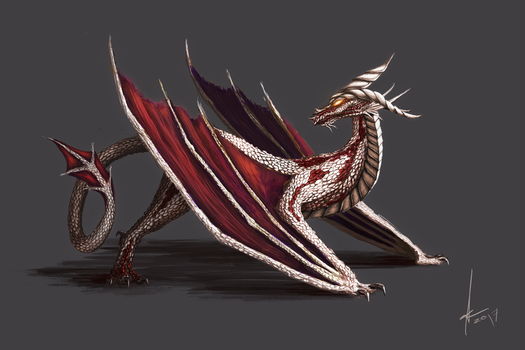 Platinum Dragon by Aestra