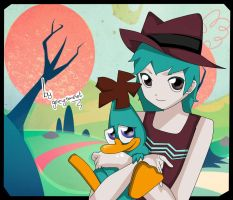 Perry and Doof /3/ by Grey-Sweet