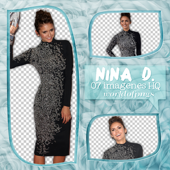 Pack png 20 - Nina Dobrev by worldofpngs