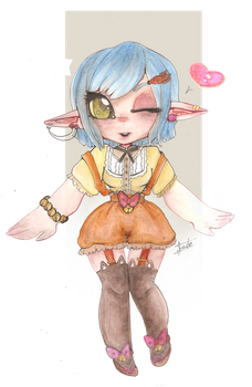 IdoodleChibis:Contest Entry by MysteryConfection