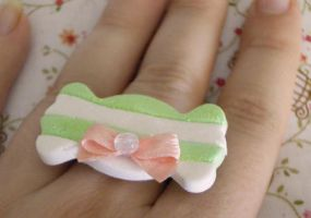 +S.O.A.: Mint-milk candy ring+ by BloodyPhoenix