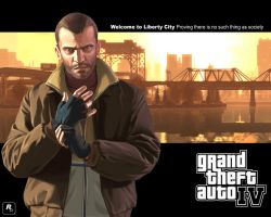 Grand Theft Auto IV wallpaper by pacee