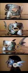 Steampunk mask by Chayo8683