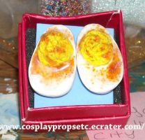 Cute food - Deviled Eggs by CosplayPropsEtc