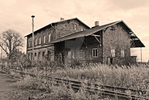 old Train Station by aeskulap