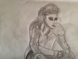 Octavia (the100) by CCheryl
