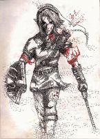 Link in Pointillism by peachy15