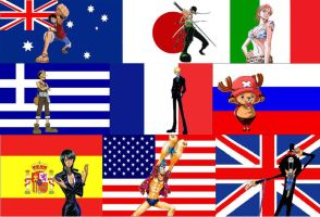 One Piece Raise the Flag by RocketGirluvsUkitake