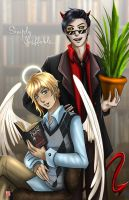 Good Omens by TyrineCarver