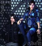 Jill and Leon by mk-re55