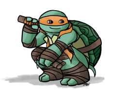 TMNT: Michelangelo by Mosrael-the-Waker