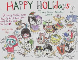 Holiday Card Project 2015 -Entry A by CelmationPrince