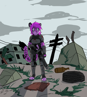 Wasteland Assassin by Metal-Kitty