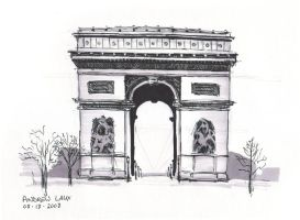 Arc de Triomphe by awlaux
