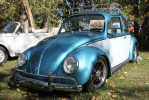 Beautiful Blue Bug by KyleAndTheClassics