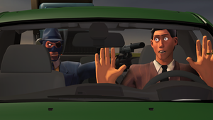 [SFM] Get Out Of The Car by MarcoMetalWolf