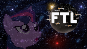 Twilight Sparkle Is Faster Than Light by zaponator