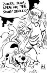 Scooby-Doo and Shaggy by IanJMiller