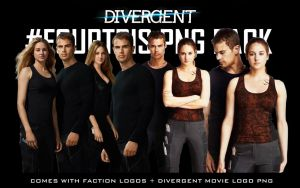 Divergent Movie Fourtris Png Pack by MoviePosterEdits
