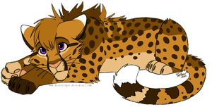 Cheetah -design trade- by KaiserTiger