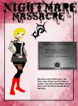 Nightmare Massacre Guild-Mandy Evil (Redo) by poisonraven5