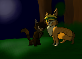 Toby and LittleWood 2 by WarDrivenGlitch23